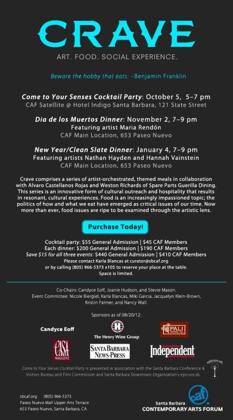 Crave: Contemporary Arts Forum at Hotel Indigo