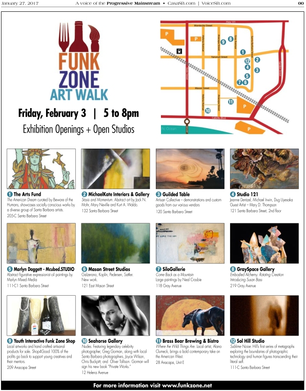 Funk Zone - Art Walk_1.27.17.indd