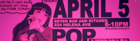 Pop Americana by Wallace at Seven Bar and Restaurant