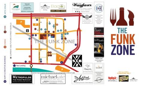 Funk Zone Map 2015