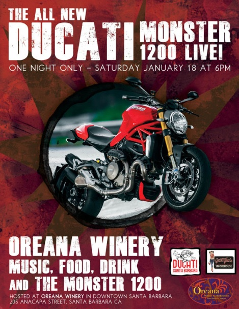 Ducati and Oreana