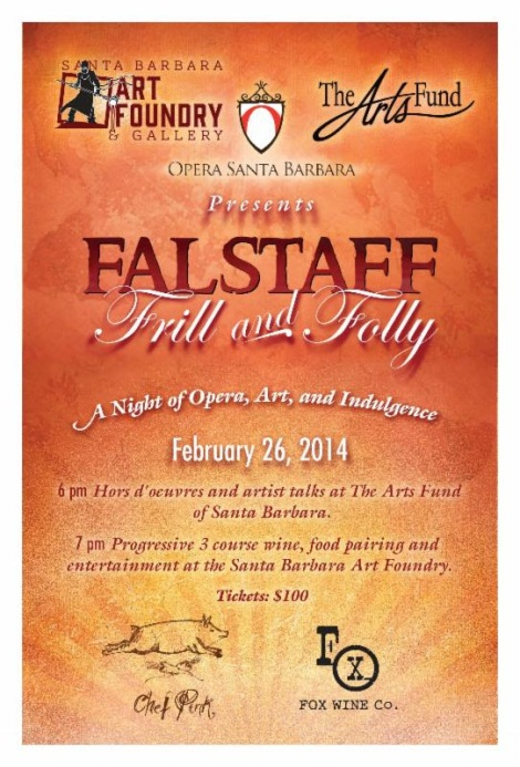 Falstaff at arts fund