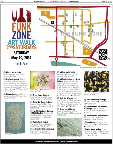 May 10th Second Saturday Art Walk