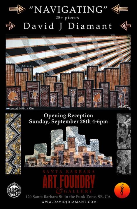 David-J-Diamant-Sept28-2014-ArtShow-POSTER-Art-FoundryWEB
