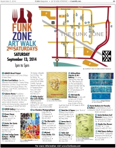 2nd Saturdays_Funk Zone.indd