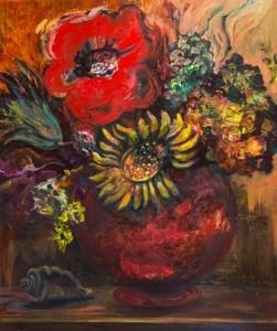New work by Jeanne Dentzel, showcased at Studio 121