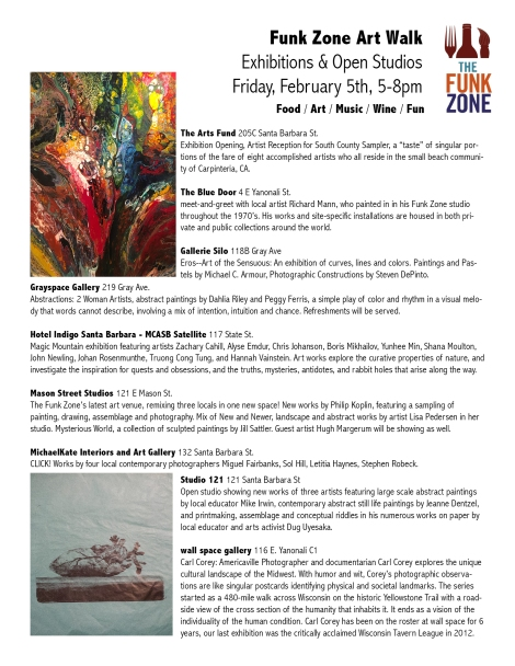 Exhibitions Flyer Feb 5th