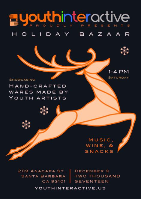 Holiday event-poster-flyer